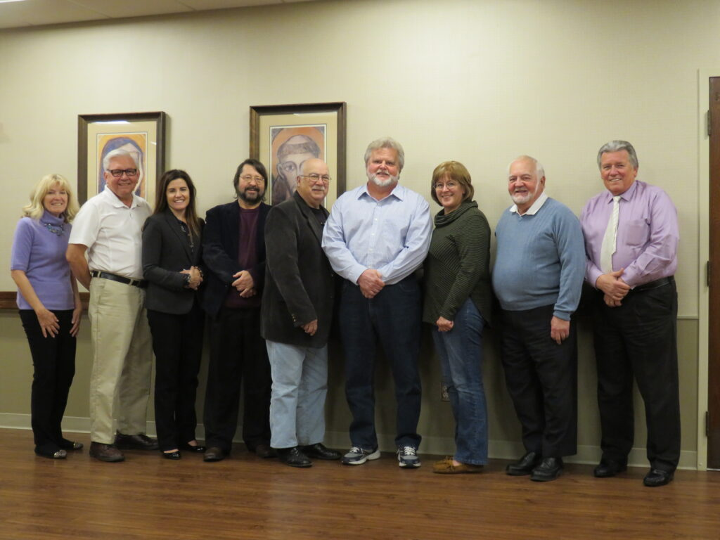 PACT Board members from left: Secretary, Rozanne Nitschke, Stan Machosky, Dr. Lisa Kahle-Piasecki, Dr. John Klocinski, Stan Pryba, Sherry Servis, Treasurer Tim Paluszak, and President, Jack Sparagowski. Not pictured: Gayle Sparagowski