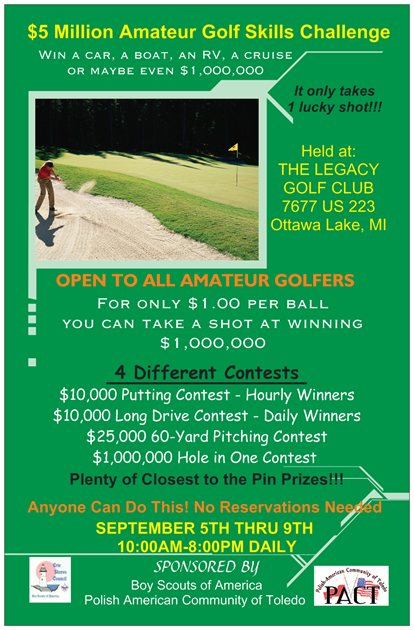Golf Event Poster (3)