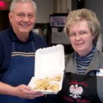 Stan and Marge with cooked pierogi