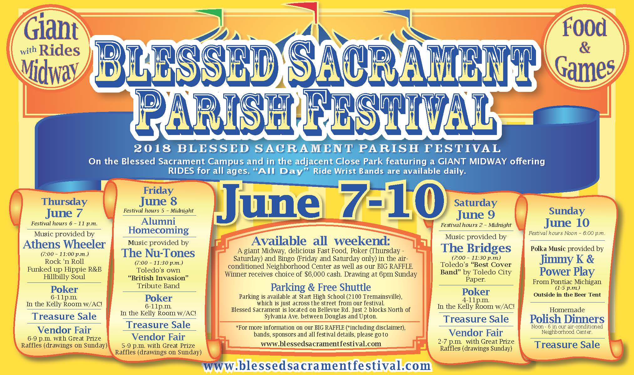 Blessed Sacrament festival