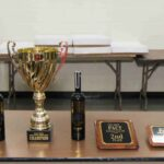 Trophies and plaques for 2019 Kielbasa Cook Off